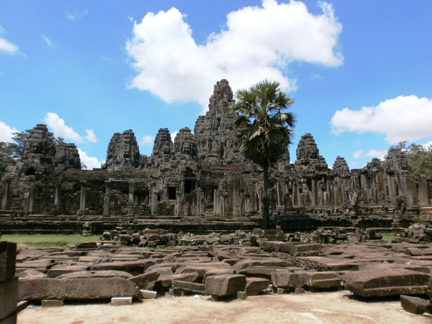One of many temples in Siem Reap. Photo by Anne-Maria Yritys. 2012.