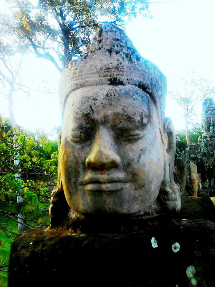 On the way to Takeo/Siem Reap. Photo by Anne-Maria Yritys. 2012.