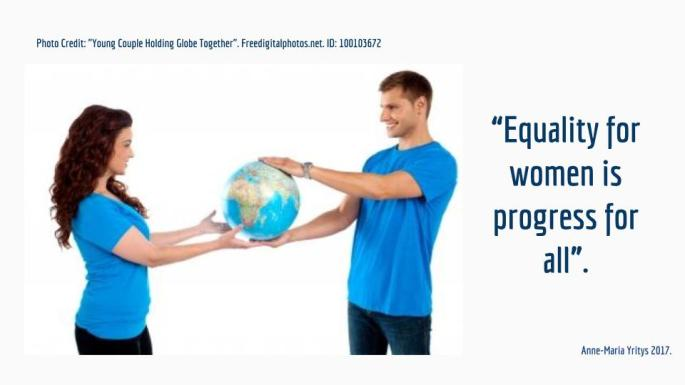 Gender equality and feminism