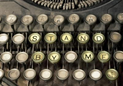 """Typewriter Stand By Me"""