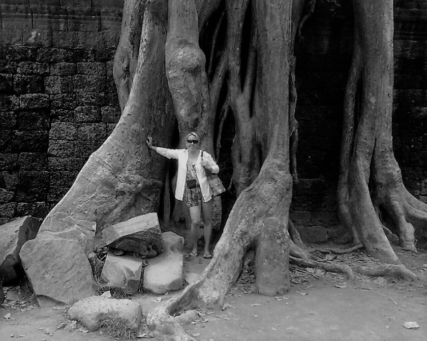 Anne-Maria Yritys Angkor Wat 2012
