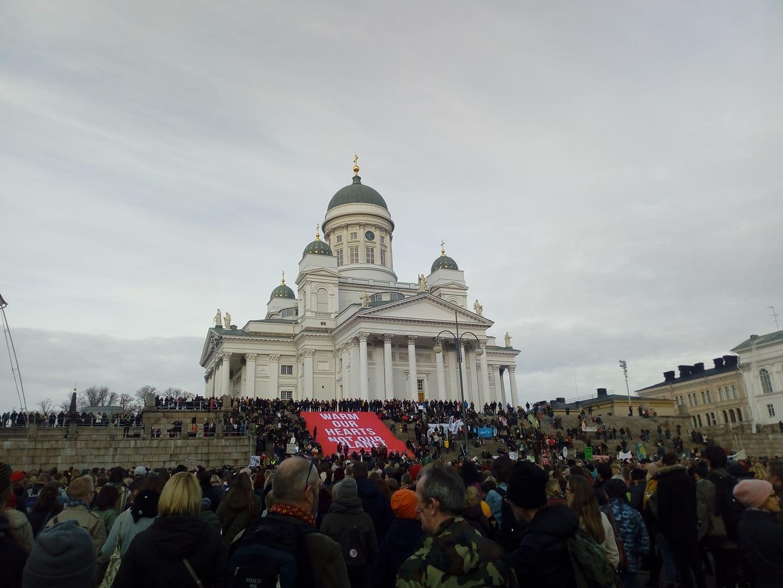 Climate March Helsinki 2018