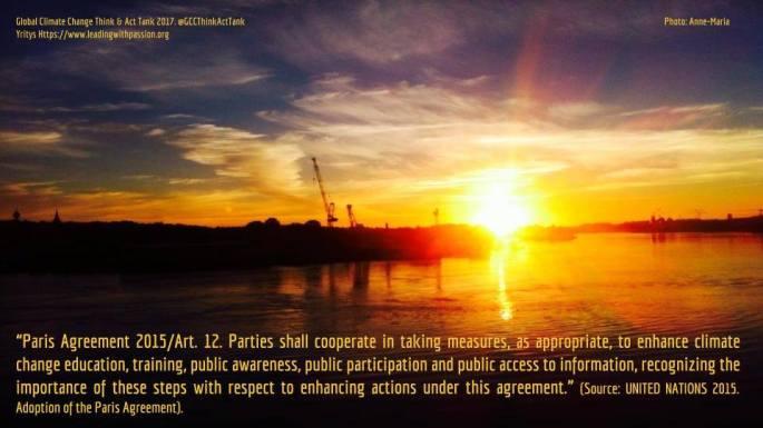 Paris Agreement 2015/Art. 12.