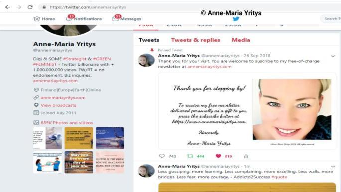 @annemariayritys on Twitter 1